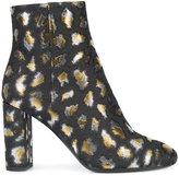 Saint Laurent Loulou zipped ankle boots