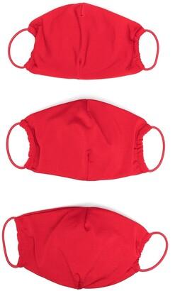 Atu Body Couture Three-Pack Face Masks