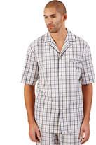 Nautica Men's Woven Plaid Pajama Top