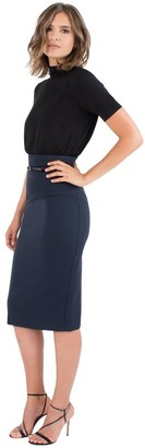 Black Halo Jackie Skirt