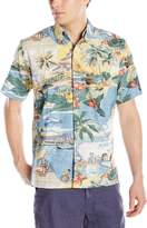 Reyn Spooner Men's Trans Pacific 40's Button Down Shirt