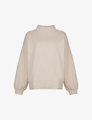 AllSaints Nevarra organic-cotton and recycled polyester-blend sweatshirt