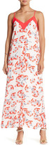 Collective Concepts Floral Print Flow Maxi Dress