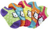 Hello Kitty 5 Pack Hearts Socks (Toddler)-Multicolor-5-6.5