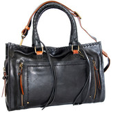 Nino Bossi Women's Alanis Leather Satchel
