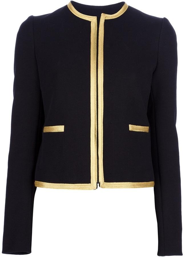Joseph collarless jacket