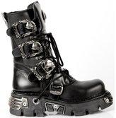New Rock Boots Unisex Style 391 S1 black