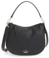 Kate Spade Jackson Street Small Mylie Leather Hobo - Black