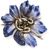 Alexis Bittar Flower Snake Pin