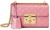 Gucci Padlock Signature Small Shoulder Bag, Rose