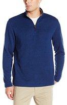 Izod Men's Spectator 1/4 Zip Sweater Fleece