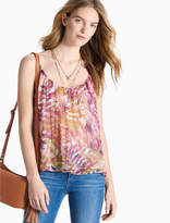 Lucky Brand Palm Double Strap Tank