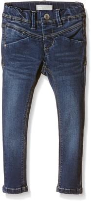 Name It Girl's nitSUS INDIGO K SKINNY DNM PANT NOOS Jeans