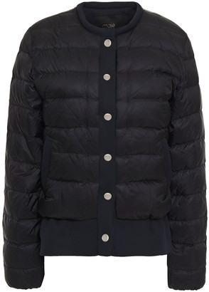 Maje Quilted Shell Jacket