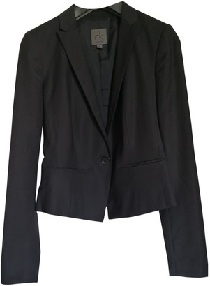 Calvin Klein Collection Black Wool Jackets