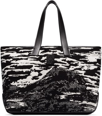 Marcelo Burlon County of Milan Mountains Tote Bag
