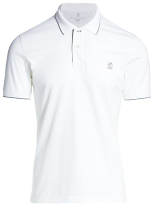 Brunello Cucinelli Pique Polo Shirt