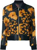 Paul Smith printed bomber jacket - women - Silk/Cotton - 44