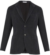 Boglioli Notch-lapel Single-breasted Cotton Jacket