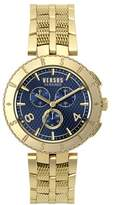 Versus By Versace Versus Versace Logo Gent Chrono Quartz Stainless Steel Watch, Model: S76160017.