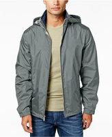 Weatherproof Men's Hooded Stand-Collar Jacket
