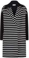 Claudie Pierlot Striped Knit Cardigan