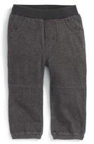 Tea Collection Infant Boy's Denim Look Sweatpants