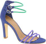 ASOS HAIRSPRAY Heeled Sandals with Colour Block