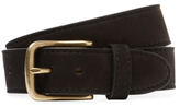 Berge Solid Leather Belt