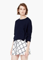 Mango Outlet Textured Cotton Sweater