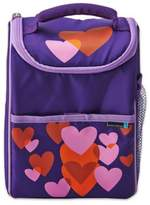 Built NY Lifetime Brands BYO Dual Beating Hearts Lunch Bag in Purple/Pink