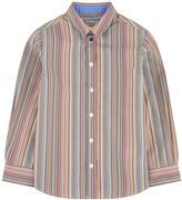 Paul Smith Striped poplin shirt