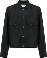 Song For The Mute classic shirt jacket - men - Cotton/Linen/Flax/Nylon/Wool - 48
