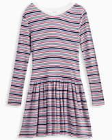 Splendid Girl Rib Stripe Sweater Dress