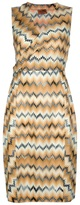 Missoni zig-zag printed dress