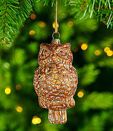 Southern Living Nostalgic Noel Owl Ornament