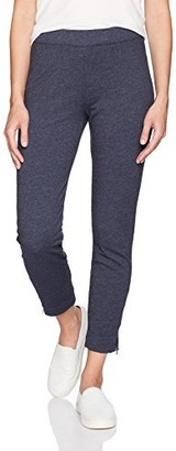Three Dots Women's Brushed Italian Loose Long Pants