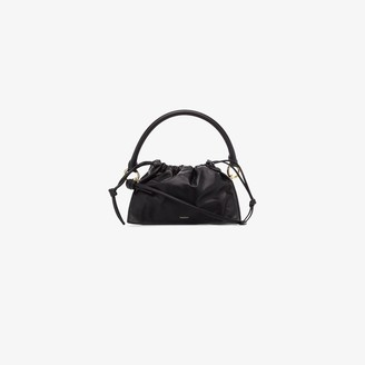 Yuzefi black Bom leather tote bag