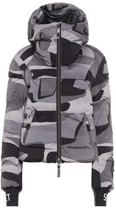 Jet Set Exclusive to Mytheresa Julia camo padded ski jacket