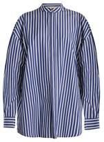 Awake Oversized striped cotton shirtdress