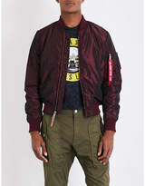 Alpha Industries Ma-1 Iridescent Shell Bomber Jacket