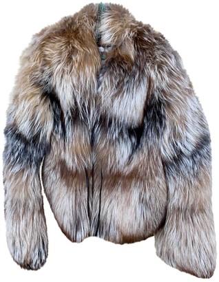 Giuliana Teso Beige Fox Coats