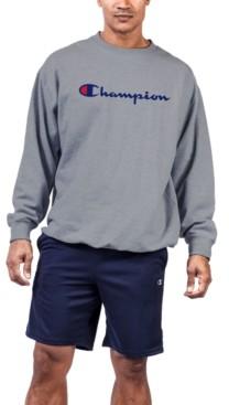 Champion Men's Big & Tall Logo Powerblend Fleece Sweatshirt