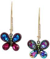 Betsey Johnson Butterfly Dreams Hook Earrings