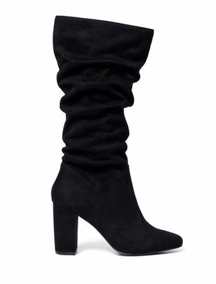 Forever New Mila Slouch Calf Boots - Black - 36
