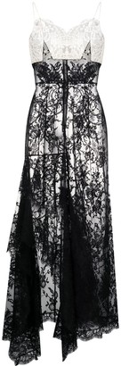 Alexander McQueen Panelled Lace Dress
