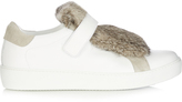 Moncler Lucie leather trainers