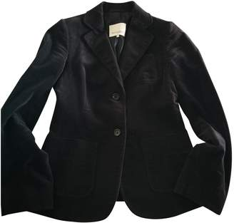 Henry Cotton Anthracite Cotton Jacket for Women