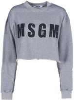 MSGM Cropped Sweatshirt