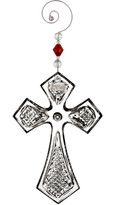 Waterford Annual Cross Ornament